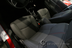Перетяжка сидений Mitsubishi ASX