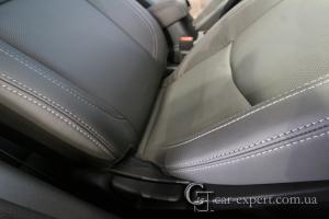 Перетяжка сидений кожей Mitsubishi ASX