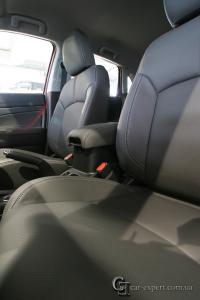 Перетяжка салона кожей Mitsubishi ASX