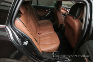 Перетяжка салона кожей Opel Insignia