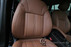 Перетяжка кожей сидений Opel Insignia