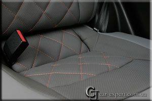 Перетяжка салона кожей Nissan Qashqai