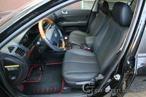 Перетяжка салона Hyundai Sonata
