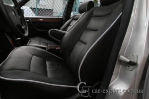 Реставрация салона Mercedes W124