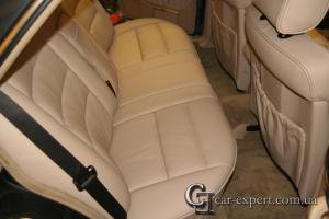 Реставрация салона Mercedes W126