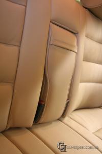 кожаный салон mercedes w126
