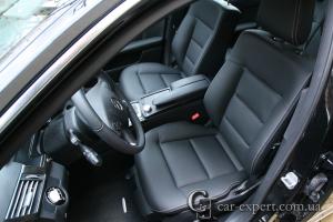 Перетяжка салона кожей Mercedes W212