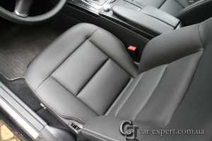 Перетяжка кожаных сидений mercedes w212