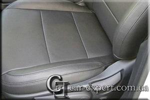 перетяжка сидений кожей Hyundai Santa Fe